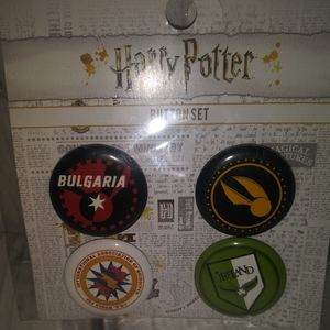 Harry Potter Quidditch Buttons